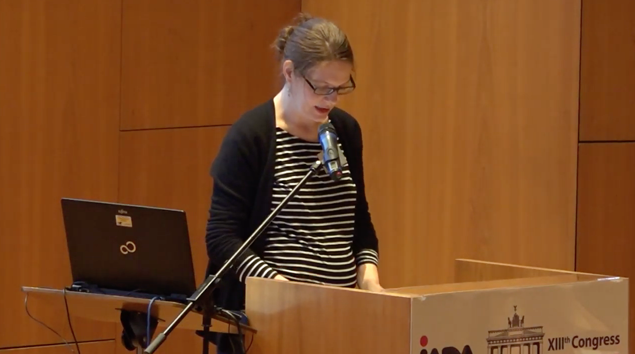 Eva Hummert: Stabilisation treatments with aerosols