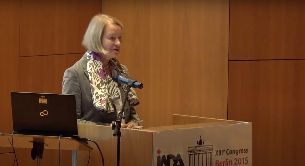 Barbara Schneider-Kempf, Director general, Staatsbibliothek zu Berlin Renate Mesmer, President of IADA